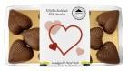Pralinhuset - Small Hearts - 40% Kakao