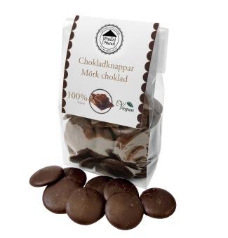 Pralinhuset - Chokladknappar - 100% Kakao -