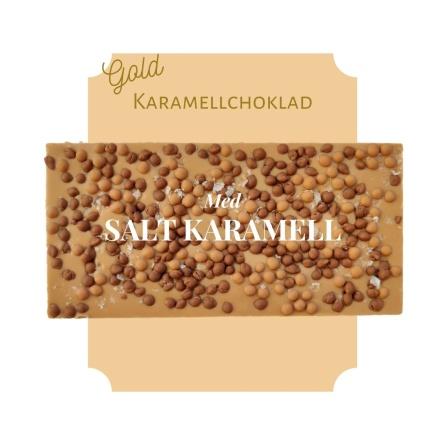 Pralinhuset - Karamellchoklad - Salt karamell -