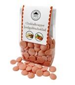 Pralinhuset - Chokladknappar - Jordgubbschoklad - 150g
