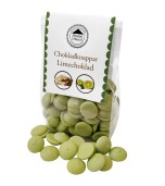 Pralinhuset - Chokladknappar - Limechoklad - 150g