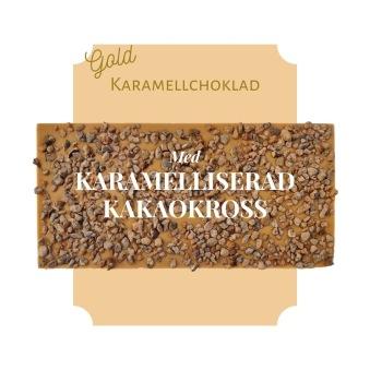 Pralinhuset - Karamellchoklad - Karamelliserad Kakaokross -