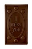 Pralinhuset - 70% Mjölkchoklad - I Miss You