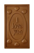 Pralinhuset - 40% Mjölkchoklad - I Love You