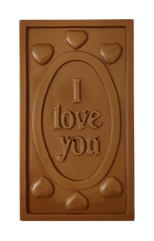 Pralinhuset - 40% Mjölkchoklad - I Love You -