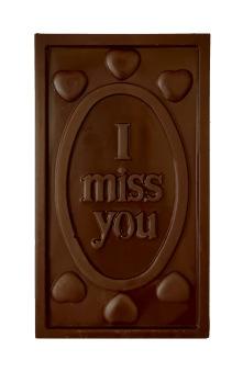 Pralinhuset - 70% Mjölkchoklad - I Miss You -
