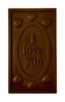 Pralinhuset - 70% Mjölkchoklad - I Love You -
