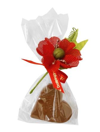Pralinhuset - Hjärta i Mjölkchoklad -25 gram -