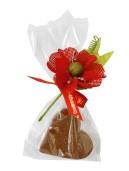 Pralinhuset - Hjärta i Mjölkchoklad -25 gram