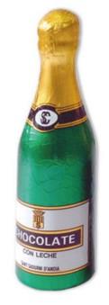Champagneflaska - Ljus Choklad - 100 gram -