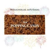 Pralinhuset - 40% Mjölkchoklad - Popping Candy