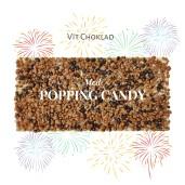 Pralinhuset - Vit Choklad - Popping Candy