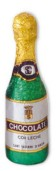 Champagneflaska - Ljus Choklad - 18 gram