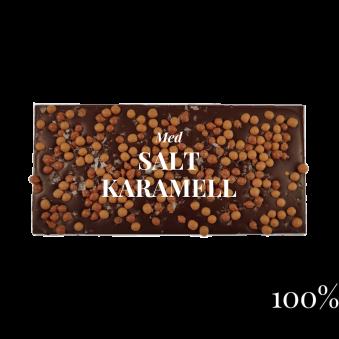 Pralinhuset - 100% Kakao - Salt Karamell -