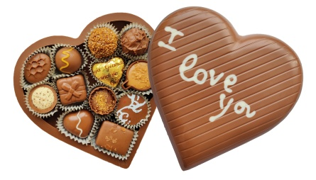 Chocolate Love - 40% Kakao - 310 Gram - Vanlig