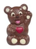 Chokladfigur - Hjärtbjörn - 200 gram