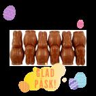 Pralinhuset - 40% Kakao - Påskharar - Ljus Choklad
