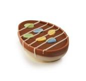 Påskpralin - Påskägget Ljus - Chokladkräm