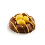 Påskpralin - Äggnästet - Marsipan & Mjölkchoklad