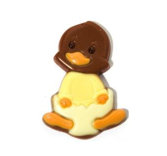 Påskpralin - Happy Duck - Ljus Choklad -