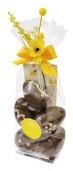 Påskpåse - Lin - Mörka Chokladägg - 145 gram