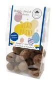 Påskpåse - Ängsklocka - Ljusa Chokladägg - Mjölkfria - 100 gram