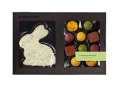 Påskask - Kanin & Praliner - Fruktblandning