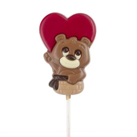 Chokladklubba - Kärleksbjörn - 35 gram -