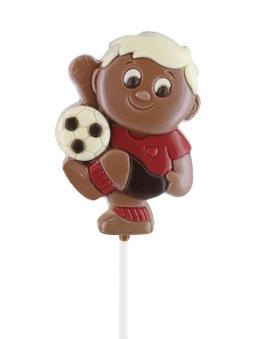 Chokladklubba - Fotbollsspelare - 35 gram -