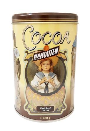 Van Houten - 100% Kakaopulver - Plåtburk 460g - Van Houten