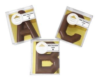 Pralinhuset - Chokladfigur - Bokstav A till Z - Bokstav - A