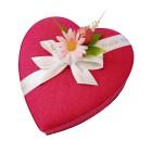 Hjärtask - Pink -  340 gram