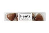 Pralinhuset - Hjärtstång Mjölkchoklad- 65 gram