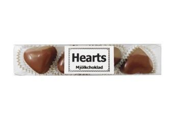 Pralinhuset - Hjärtstång Mjölkchoklad- 65 gram -