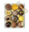 High Tea Selection - Gold - Clear - 12 bitar - Guldsnöre