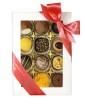 High Tea Selection - Gold - White - 12 bitar - Rosa pralinhusetband