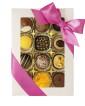 High Tea Selection - Gold - White - 12 bitar - Rosa band