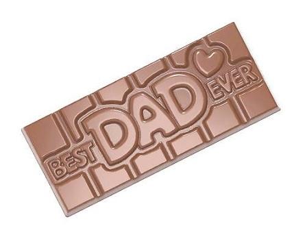 Chocolate Wish - 40% Kakao - Best Dad Ever -