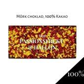 Pralinhuset - 100% Kakao - Passionsfrukt & Hallon