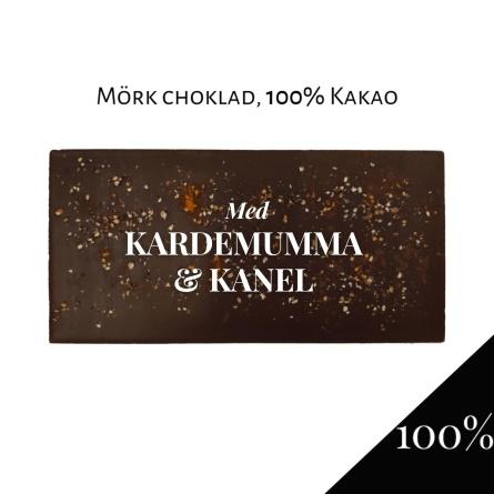 Pralinhuset - 100% Kakao - Kardemumma & Kanel -