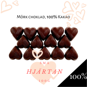 Pralinhuset - Small Hearts - 100% Kakao