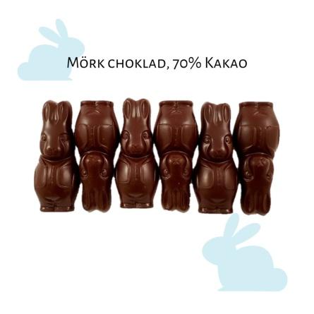 Pralinhuset - 70% Kakao -  Harar - Mörk Choklad