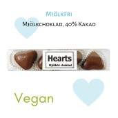 Pralinhuset - Hjärtstång Mjölkfri Choklad- 65 gram