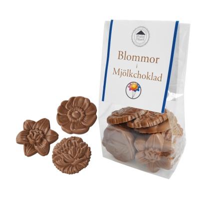 Pralinhuset - Choco Snacks - Chokladblommor Ljus -