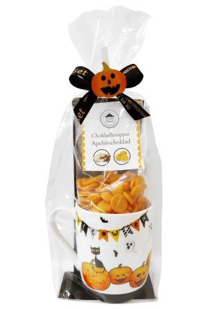 Halloweenkopp - Kopp & Chokladknappar -