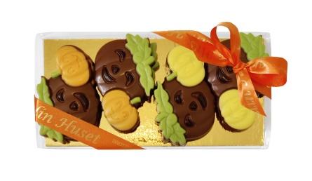 Happy Pumpkins Ask - Mjölkchoklad -