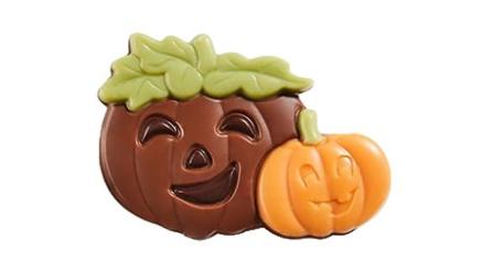 Pralin & Tryffel - Happy Pumpkins Orange - Mjölkchoklad -