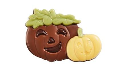 Pralin & Tryffel - Happy Pumpkins Yellow - Mjölkchoklad -