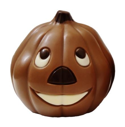 Chokladfigur - Pumpa i Mjölkchoklad - 50 gram -