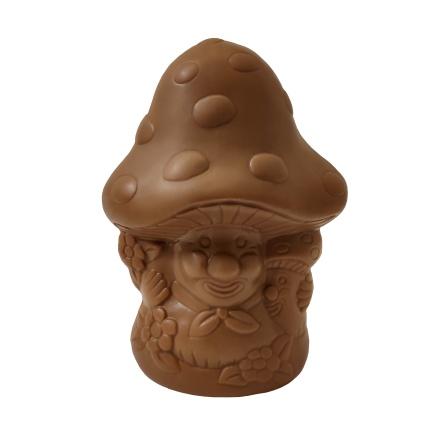 Chokladfigur - Svampvänner i Mjölkchoklad - 95 gram -